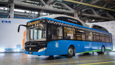 «Группа ГАЗ» презентовала новый электробус