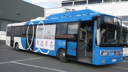 Финские электробусы Linkker