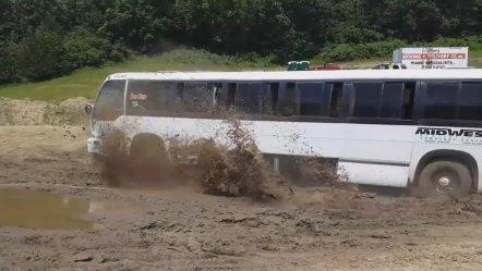 Crazy Bus Driving Skills | Extreme Bus OffRoad in Mudding Roads