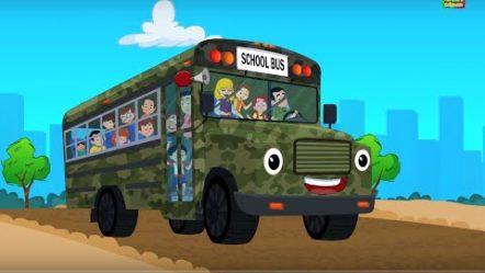Колеса на автобусе | сборник для детей | Wheels On The Bus | Compilation | Schoool Bus Cartoon