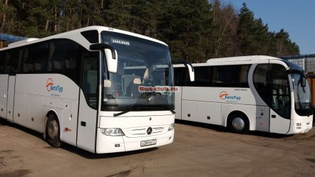 Химчистка салона автобуса Man Lion's Coach от Bus-club.ru
