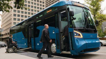 MCI впервые за 36 лет представила новый автобус