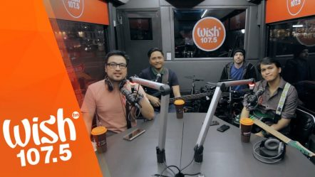 Shamrock performs «Nandito Lang Ako» LIVE on Wish 107.5 Bus