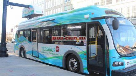 Электробус ZeroBus на улицах Луисвилля