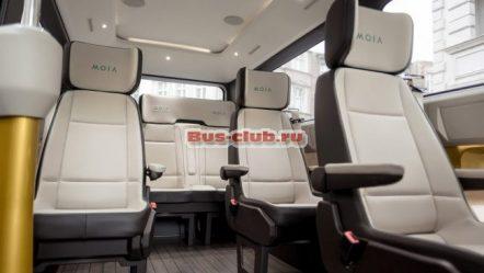 Автобуса MOIA от Volkswagen: