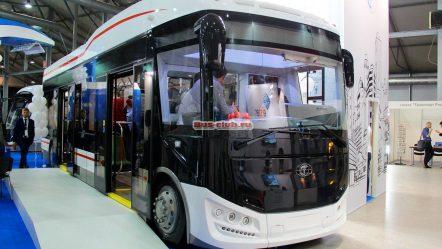 Пионер-6218: электробус с прицепом