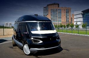 Беспилотный электробус KAMAZ на выставке Busworld Russia 2018