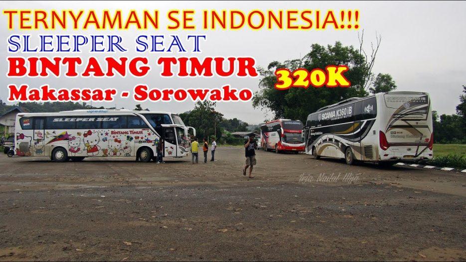 GAK BAKAL TAHAN! TERNYAMAN SE INDONESIA RAYA! Trip Bus Sleeper Bintang Timur ke Sorowako