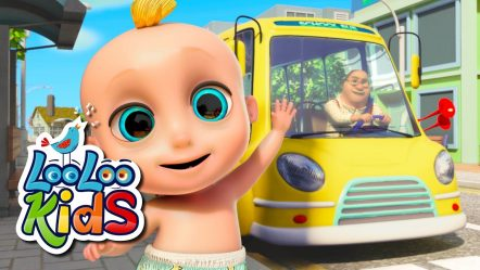 The Wheels On The Bus — Fun Songs for Children | LooLoo Kids