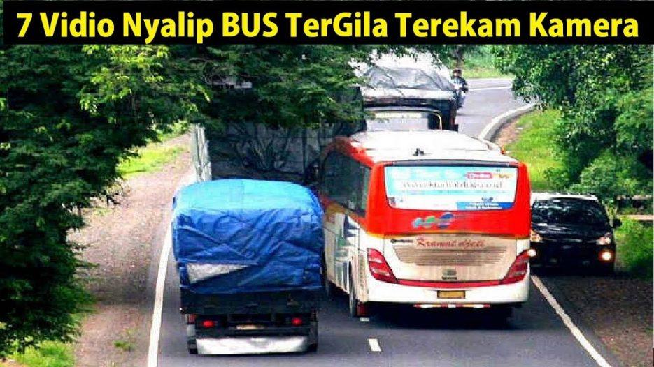 7 Nyalipan BUS Tergil4 Terekam Kamera di Indonesia