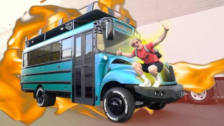 THE COOL BUS IS FINISHED! **national TV**