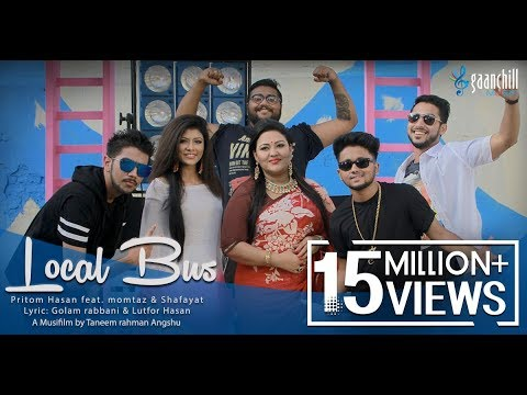 Local Bus   Official Music Video   Pritom feat. Momtaz And Shafayat   Angshu   Bangla New Song 2016