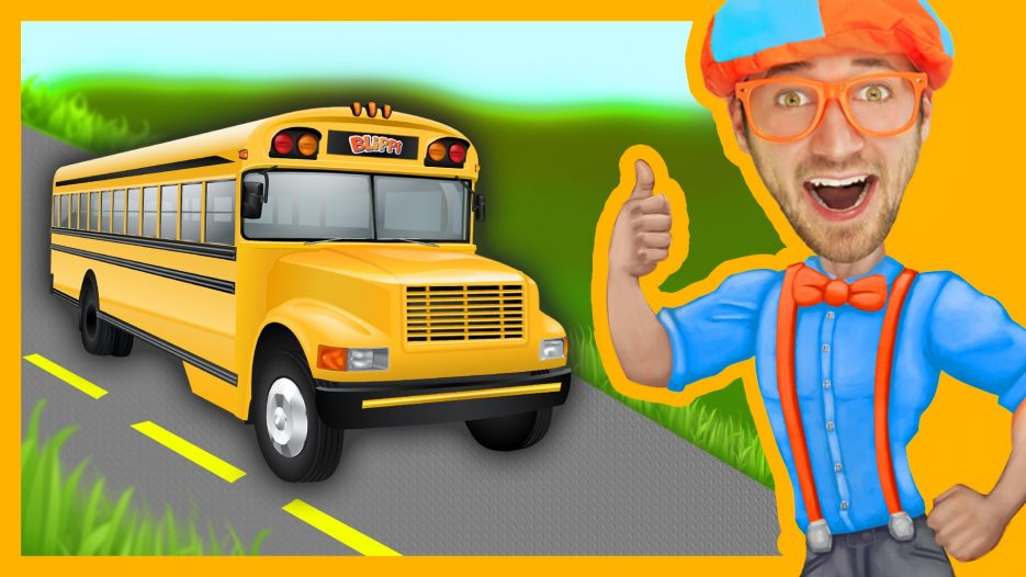 Blippi Wheels On The Bus   Songs For Toddlers