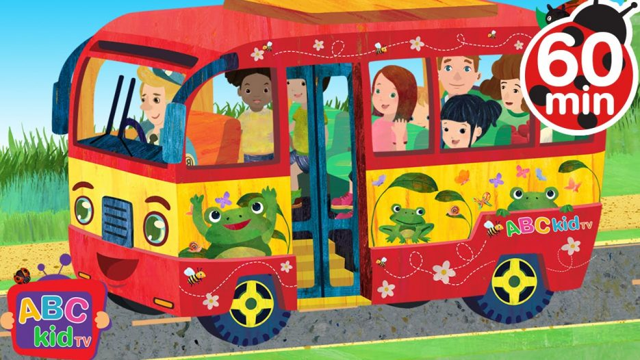Wheels on the Bus | +More Nursery Rhymes & Kids Songs — Cocomelon (ABCkidTV)