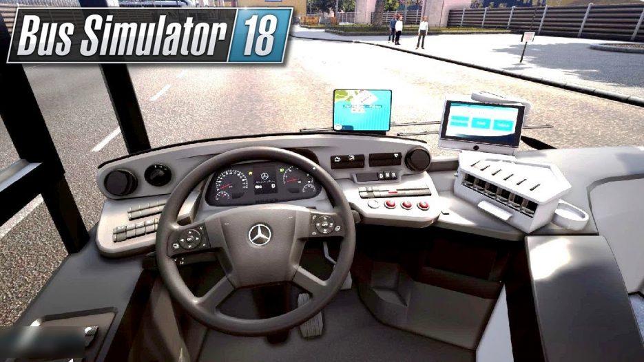 Trasa w porcie   Bus Simulator 18 (#13)