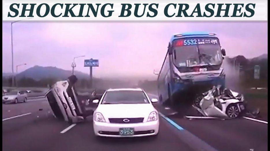 SHOCKING BUS CRASH COMPILATION