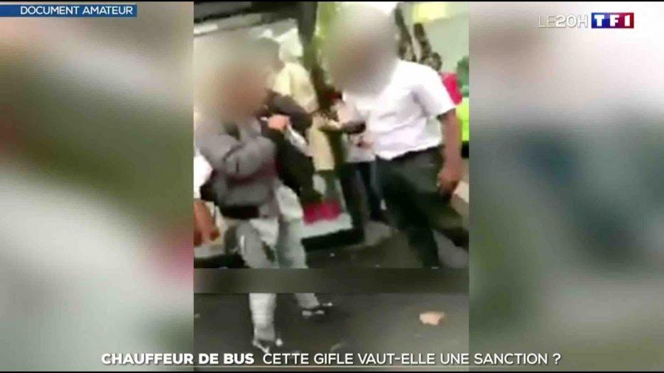 Polémique : Un chauffeur de bus RATP gifle un collégien — ZAPPING ACTU DU 17/09/2018