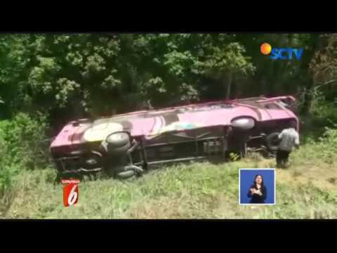 Polisi Selidiki Penyebab Kecelakaan Maut Bus Wisata Magetan – Liputan6 Siang