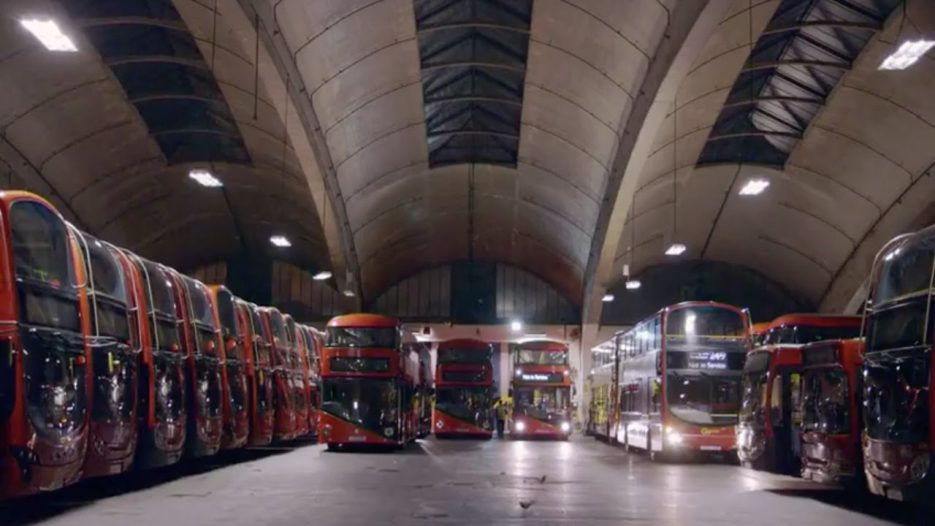 The Secret Life of a Bus Garage (Go-Ahead Stockwell)