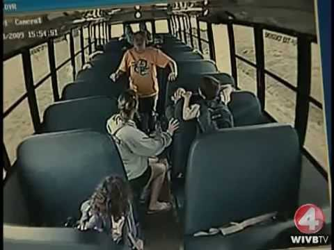 Kids yelled at their Drunk Bus Driver to STOP!