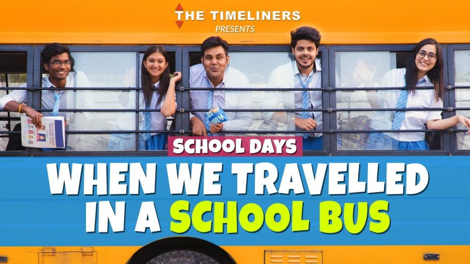 School Days: When We Travelled In A School Bus   The Timeliners