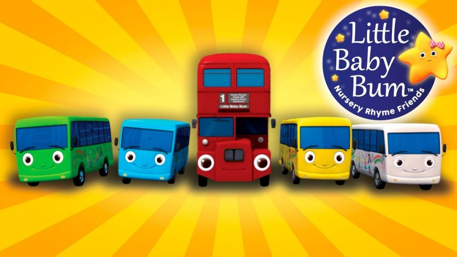 Little Baby Bum | Ten Little Buses — From Wheels On The Bus | Nursery Rhymes for Babies