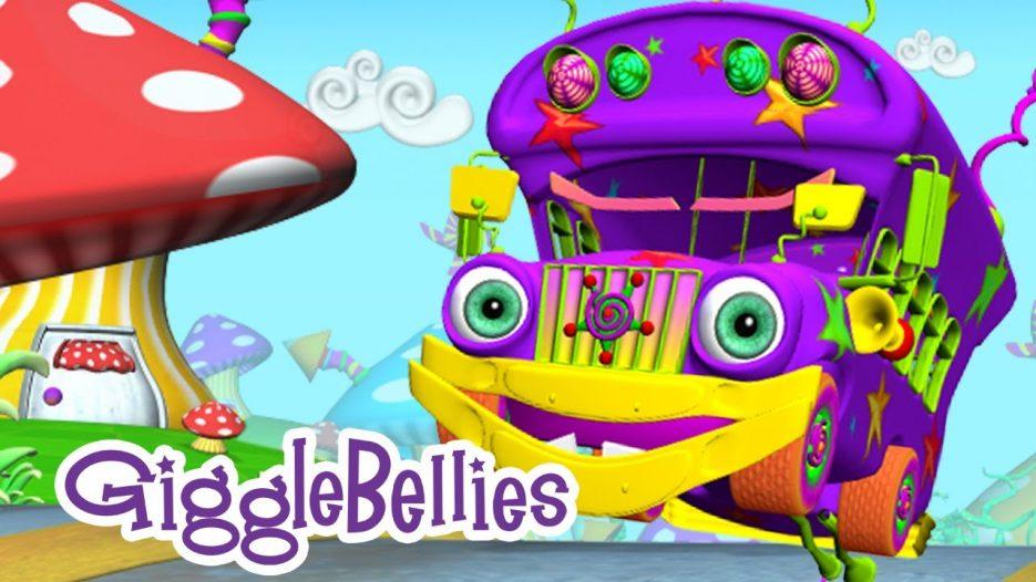 The Wheels On The Bus   Nursery Rhymes   GiggleBellies