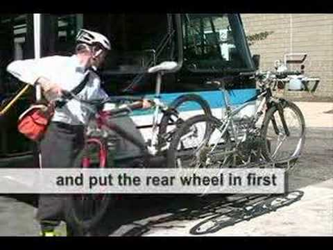 Using the Bike Rack on a Public Bus