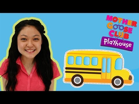 Wheels on the Bus | Mother Goose Club Playhouse Nursery Rhymes