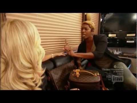 RHOA — Kim vs. Nene (Tour Bus Fight)