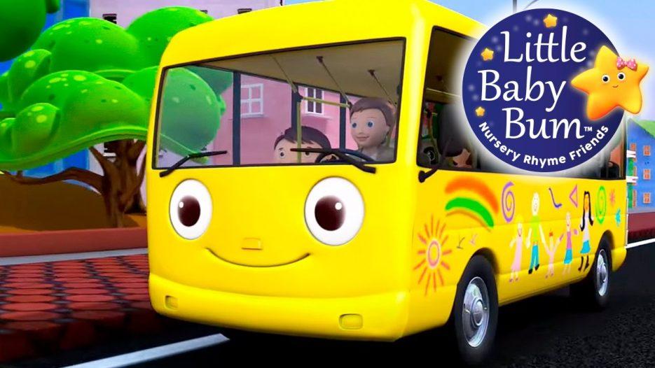 Wheels On The Bus   Part 1   Nursery Rhymes   from LittleBabyBum!