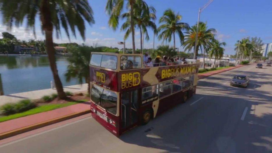Big Bus Tours Miami — Open-Top Sightseeing Tour Video