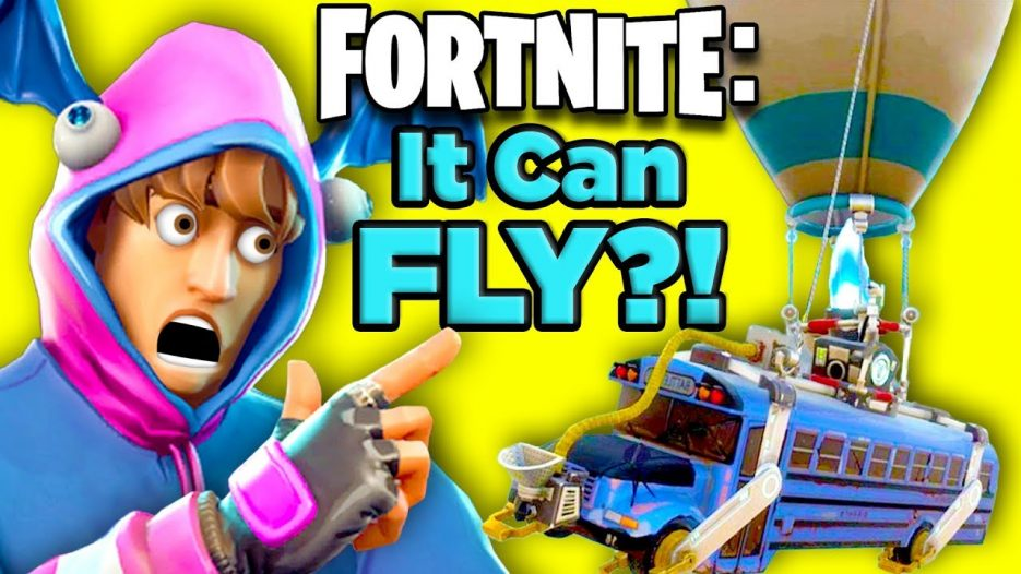 How The Fortnite Battle Bus Works — SOLVED!   The SCIENCE… of Fortnite Battle Royale