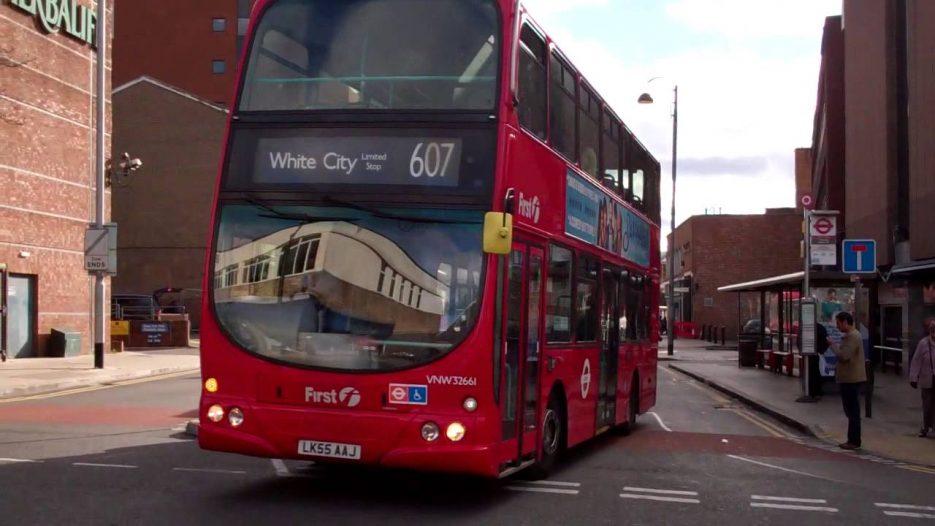 London Buses Uxbridge Bus Station