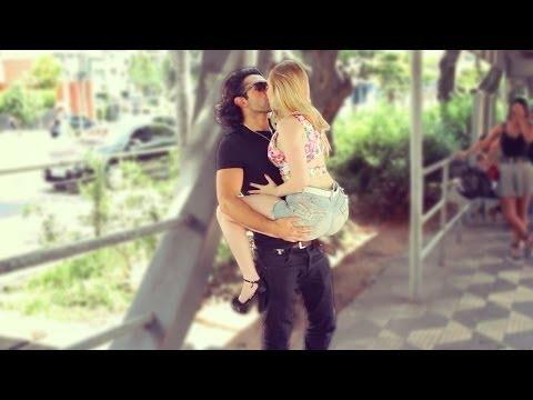 Kissing Prank — Bus Stop Edition