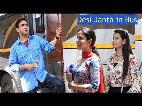Types of People in Desi Bus —   Lalit Shokeen Films  