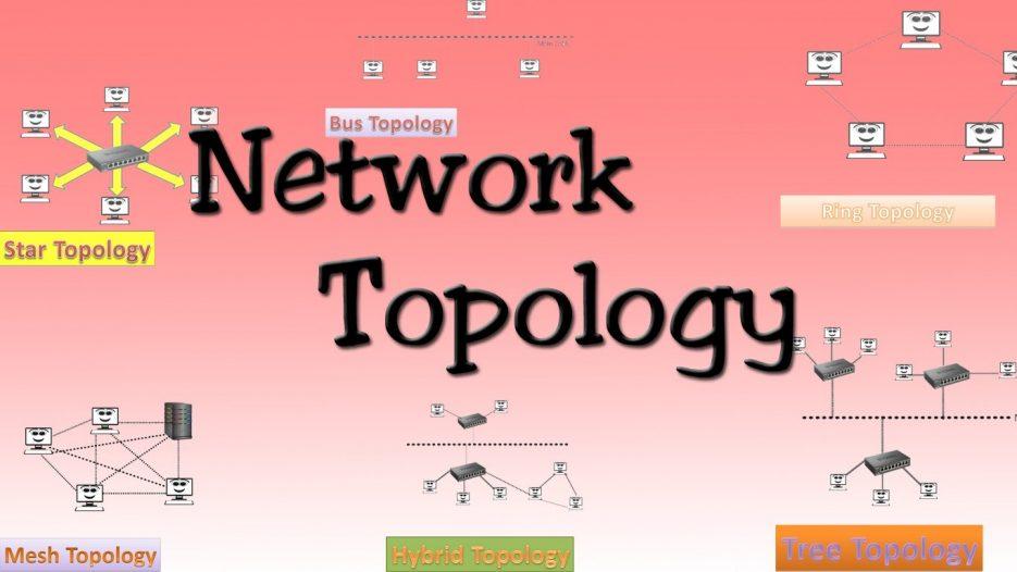 Network topologies ( Bus, Star, Ring, Mess, Tree, Hybrid Topologies )