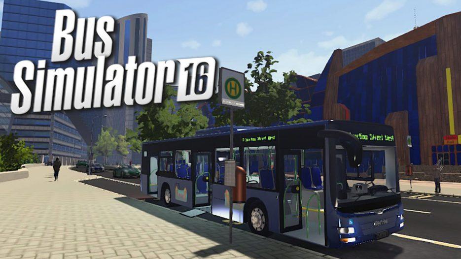Bus Simulator 16 Gameplay — Bus Driving is HARD! (Bus Simulator 2016)