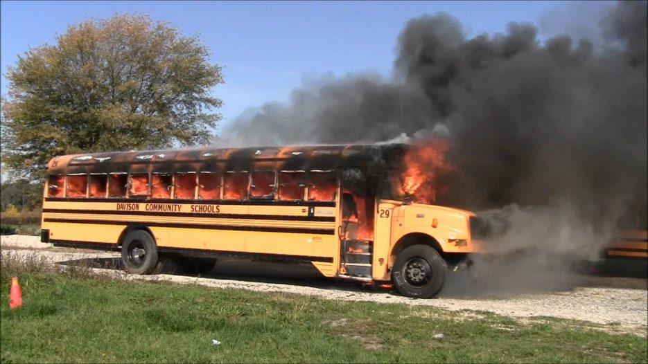 Bus fire training 3