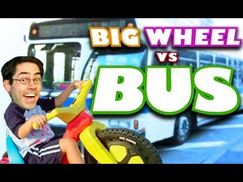 BIG WHEEL VS. BUS — Mark Malkoff