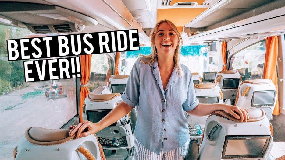 BEST TURKEY BUS EXPERIENCE EVER — 9 Hour Bus Ride to Cappadocia