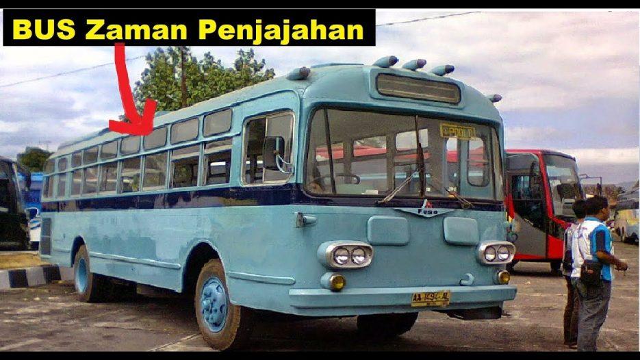 7 Bus Tertua Masih Beroperasi sampe sekarang di Indonesia
