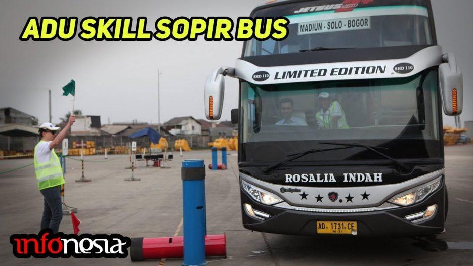 ADU SKILL! Inilah Ajang Kompetisi Sopir Bus & Truk di Indonesia