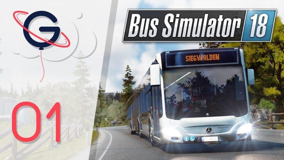 BUS SIMULATOR 18 FR #1 : Devenir chauffeur de bus