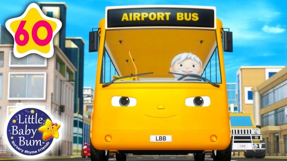 Party on The Bus | Wheels on The Bus V17 + More Nursery Rhymes & Kids Songs | Little Baby Bum