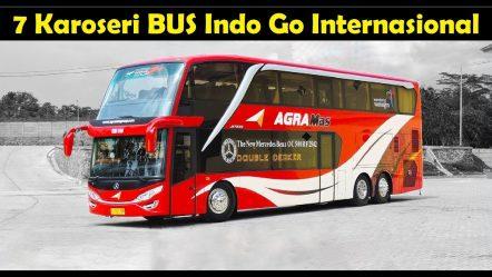 7 Karoseri BUS Terbaik Indonesia Go Internasional