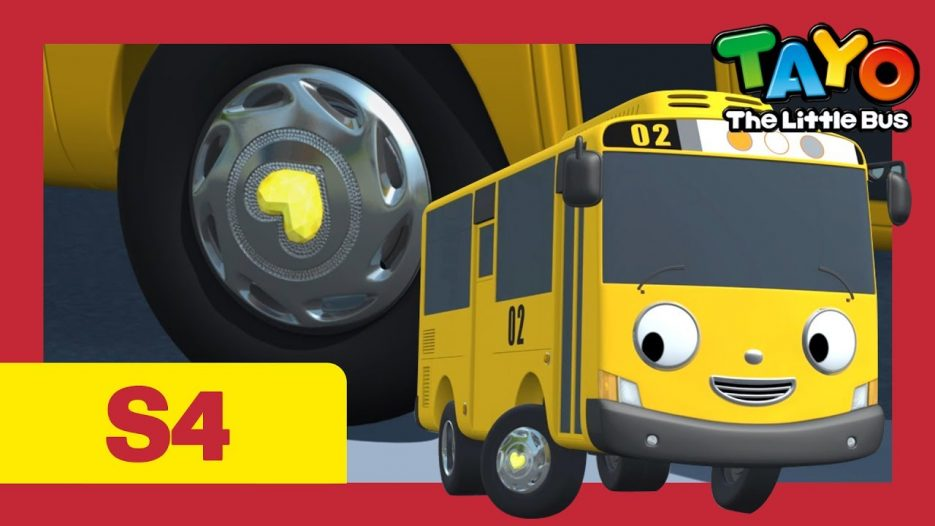 Tayo S4 #17 l Give me courage l Tayo the Little Bus l Season 4 Episode 17