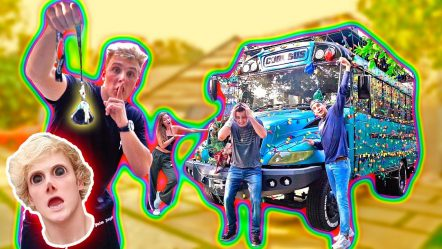 I STOLE LOGAN'S COOL BUS!! **GONE WRONG**