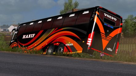 🔴 Bangladesh Highway Road Bus Accident | (ETS 2) Euro Truck Simulator 2 Volvo Bus Mod Download Link