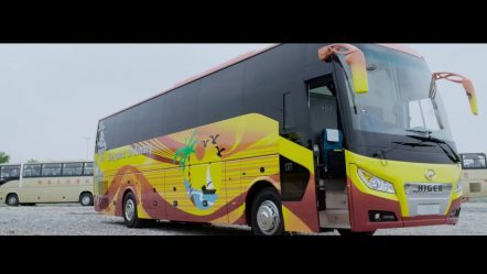 Презентация туристического автобуса Higer KLQ6128LQ